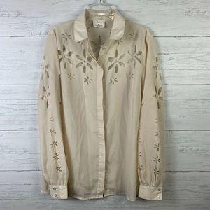 Anthropologie Pins and Needles Blouse M